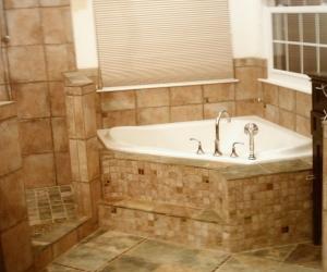 Master bath after