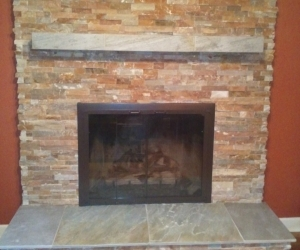 Fireplace Stacked stone 3