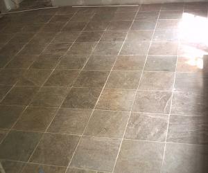 slate floor